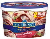 Premium Ice Cream  Double Strawberry