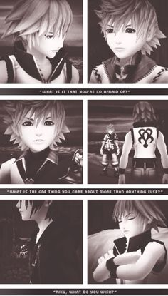 This part may have been the most emotional part in Dream Drop Distance for me. Seeing Roxas, Ven, and Xion again after experiencing their tragic endings...