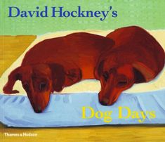 Buy David Hockney's Dog Days by David Hockney at Mighty Ape NZ. The perfect gift for Hockney fans and dog lovers everywhere, David Hockney's Dog Days, now in a gift edition, is an album devoted to two of the artist. David Hockney, Franz Marc, Arte Dachshund, Dachshund Gifts, Pop Art, The Artist, Day Book, Pablo Picasso, Dog Days
