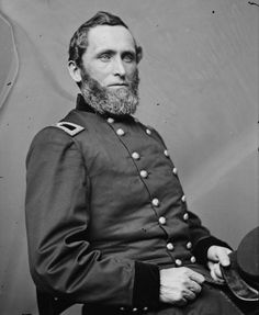 """Union General George Prentiss commander of the Union 6th Division at Shiloh that held out at the """"Hornet's Nest."""""""