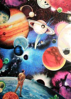 art trippy lsd acid psychedelic galaxy stars trip universe planets dmt Psychedelic art acid trip open your mind lsd trip Kunst Inspo, Art Inspo, Psychedelic Art, Psychedelic Experience, Digital Collage, Collage Art, Digital Art, Image Swag, Trippy Pictures