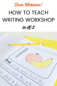 How To Implement Writing Workshop in Second Grade Writing, Pre Writing, Writing A Book, Writing Ideas, Writing Strategies, Writing Lessons, Writing Skills, Kindergarten Writing, Teaching Writing