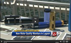 A $1 million network of water-quality sensors, including YSI EXO, will take the real-time pulse of Indian River Lagoon, Florida, algae blooms and pollution. #waterquality Indian River Lagoon, Thing 1, Water Quality, Lakes, Exo, Monitor, Florida, Learning, World