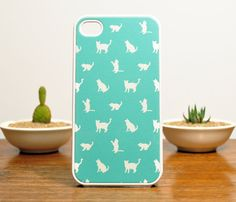 Cats iPhone Case - if i had an iPhone, we all know this would be my case..