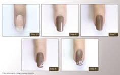 step by step trendnaegel