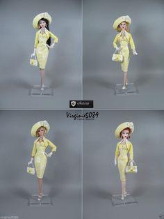 tenue outfit + accessoires pour fashion royalty Barbie silstone nu face #1459 in Jouets et jeux, Poupées, vêtements, access., Autres   eBay