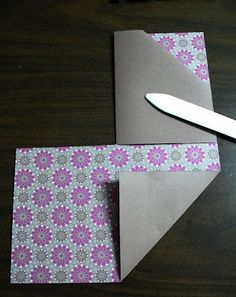 Double Pocket card tutorial