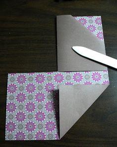 Double Pocket card tutorial