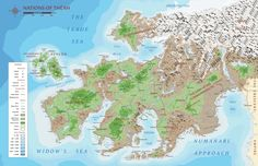 Map of Theah