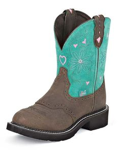 I just love these Justin boots from Country Outfitters!