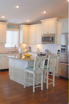 Small White Kitchen Design
