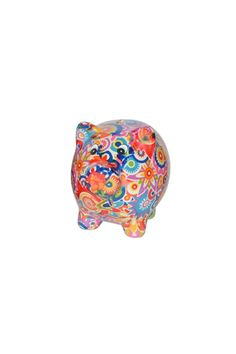 """Meet Pixie Pig! Pixie is an artfully creative, ceramic piggy bank from Belgium!Continuously inspired by stylish environments like fashion, interior design, ortravelling,Pomme-Pidoublends the newest trends with the funniest shapes. Collect them all!    Measures:8.25"""" x 6.25""""   Pixie Pig Bank by Pomme-Pidou. Home & Gifts - Gifts - Gifts by Occasion - Just Because Kentucky"""
