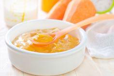 Aos 7 meses, o bebê deve fazer 2 refeições com fruta e ter o almoço com papinha salgada. Veja 4 receitas fáceis e saudáveis para incrementar o...