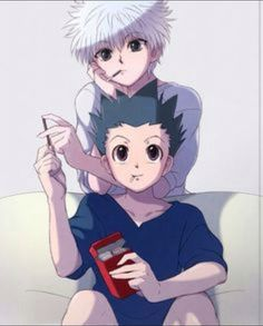 Killua and Gon Hunter X Hunter