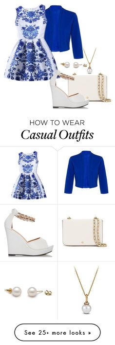 """""""Casual outing"""" by nadia-n-pow on Polyvore featuring Dorothy Perkins, Chicnova Fashion, Tory Burch and David Yurman Outfits For Teens, Casual Outfits, Cute Outfits, Fashion Outfits, David Yurman, Spring Outfits, What To Wear, Tory Burch, Graduation Outfits"""