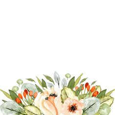 446 Likes, 4 Comments - Zakkiya H Watercolor Border, Watercolor Flowers, Floral Border, Colorful Drawings, Adobe Photoshop, Illustrators, Romona Keveza, Arts And Crafts, Clip Art