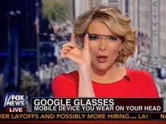"Fox News Google Glass ""Hot Dog"" Disaster -  Faux News can finally check their bullshit REAL TIME"