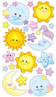 EK Success - Sticko Classic Collection - Stickers - Twinkle Twinkle at Scrapbook.com