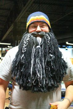 Yarn Dwarf Beards- I can already think of SO many people who would love these!