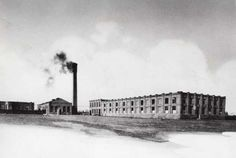 In 1891, a single smokestack puffed smoke from a coal furnace that provided power for Kodaks four-building production complex at Lake Avenue and Ridge Road.