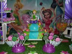 Tinkerbell party decor