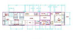 School Bus Conversion Plans   click images to enlarge