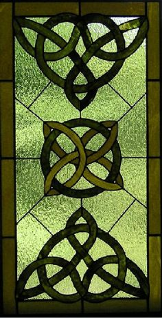 free Stained Glass Window Patterns | Celtic Stained Glass - Glass - Crumlin