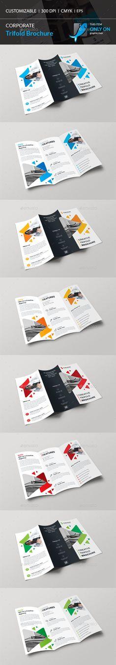 Square Tri Fold Brochure Bundle 3 In 1 Tri Fold Brochure Tri Fold
