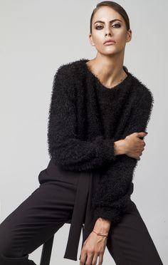Shop Online Elegant, Feminine & Sophisticated Clothing designed by Fotini Karagianni. Sophisticated Outfits, Online Sales, Dresses For Sale, Men Sweater, Feminine, Pullover, Elegant, Sweaters, Shopping