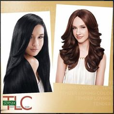 Worried about hair color? Use #StreaxTLC hair color enriched with fruit extracts.