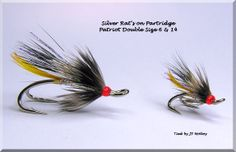 Silver Rats tied on Partridge Patriot Doubles Sixe 6 & 14
