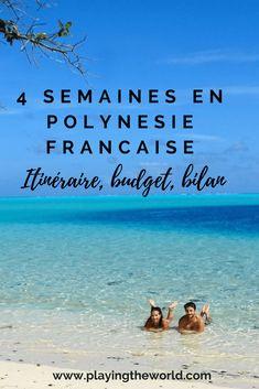 La #Polynésie, un endroit qui nous faisait rêver depuis tout petit et qu'on croyait inaccessible ! Et pourtant, au cours de notre tour du monde nous avons décidé de rajouter cette étape paradisiaque à notre #voyage #tourdumonde.