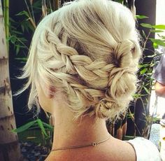 getting all the layers out of the way in a beautiful collection of braids and buns