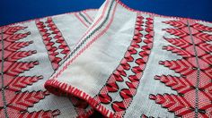 vintage Romanian table runner tradition embroidered rustic decor 1930s handmade