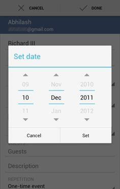 Android niceties #google