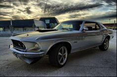 69 Ford Mustang!