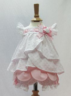 3fccba0ff779e £64.95 delivered - Little Darlings Baby Dress & Bloomers 2203 Sewing  For Kids,