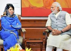 """Meeting with Modi """"Positive"""" says Mehbooba Mufti. PM, Mehbooba talk, J&K govt. likely soon"""