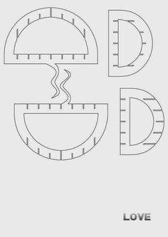 sliceform kom - jose od la lesa - Picasa Web Albums Pop Up Valentine Cards, Pop Up Greeting Cards, Kirigami Patterns, Sliceform, Pop Up Card Templates, Pop Up Art, Paper Pop, Silhouette Cameo Projects, Crafts To Make