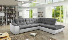 Couchgarnitur Couch Sofagarnitur GALAXY D Sofa Wohnlandschaft Schlaffunktion