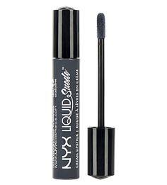 NYX COSMETICS - Liquid Suede Cream Lipstick - Stone Fox