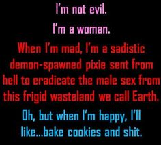 Bake cookies and shit >:)