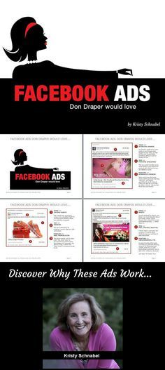 """""""Facebook Ads Don Draper Would Love..."""" You're ready to generate demand with your business with Facebook ads, but what really works? Start with the 10 best Facebook ads and why they work."""