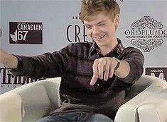 Thomas Brodie-Sangster - playing Newt in the movie The Maze Runner -  Tumblr