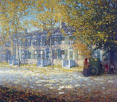 Hurdy Gurdy c.1912 By Lawren Harris
