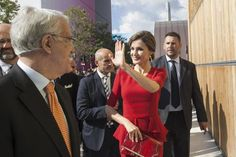 Queen Letizia attended the ceremony marking the 70th anniversary of FAO at the World Food Day at Italy's EXPO on October 16, 2015 in Milan, Italy.