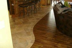 Love the irregular floor edging...
