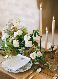 Elegant Indoor Winery Wedding Inspiration