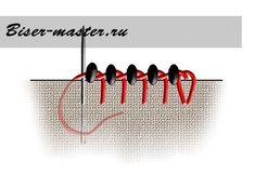 Мастер-классы: Мини-МК для начинающих по заделочному ряду (русский способ)