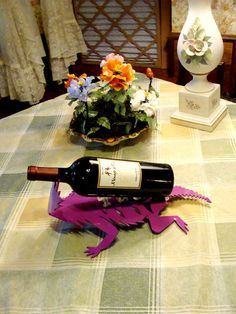 TCU Horned Frog Spiny Back Cut Steel Wine by BestofbothWorlds, $48.00 Shes Like Texas, Home Gadgets, Grad Gifts, All Things Purple, Art Projects, Tailgating, Housewife, Gift Guide, Clever